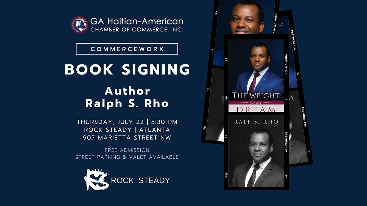 Live Book Signing   Ralph S. Rho