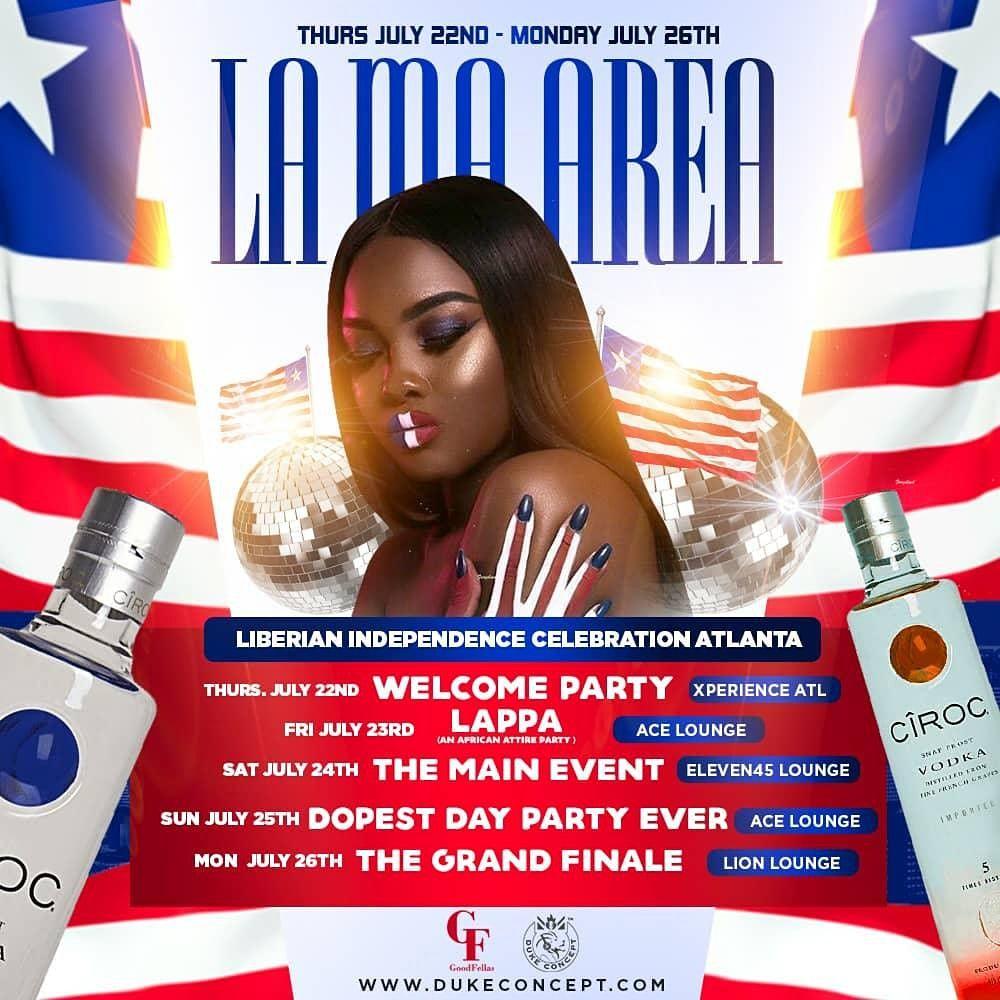 LIBERIAN INDEPENDENCE CELEBRATION \u00b7 ATLANTA GA