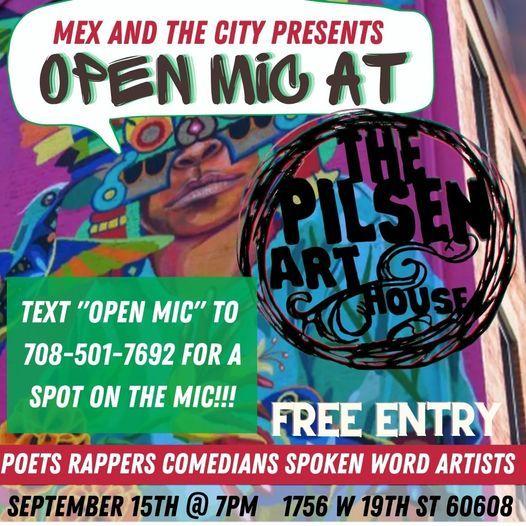 Open Mic at The Pilsen Art House