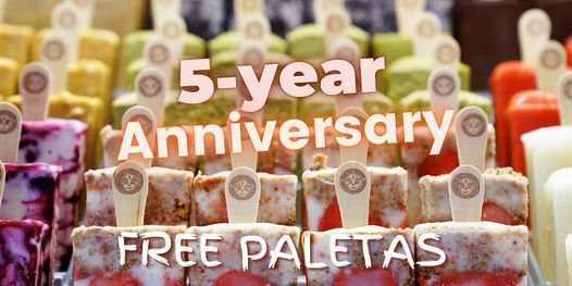 Morelia Free Paletas (Ice Cream) - 5 Year Anniversary - Surfside  Store