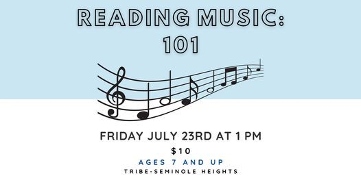Reading Music 101!