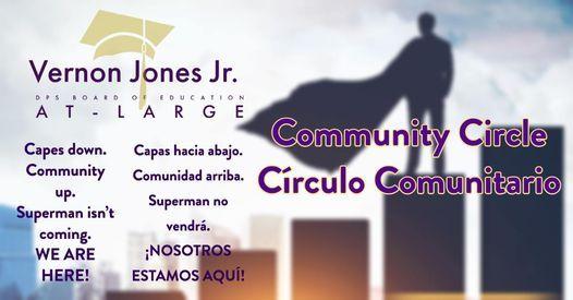 Community Circle \/ C\u00edrculo Comunitario