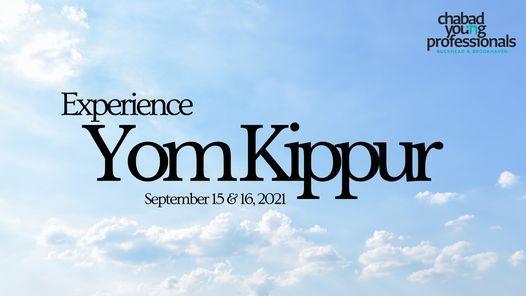 Experience Yom Kippur with CYP!