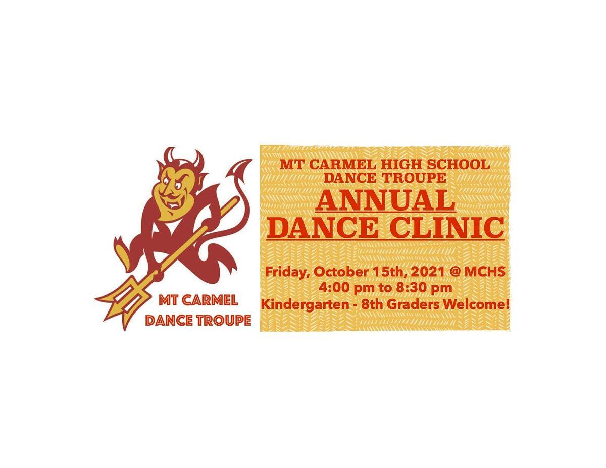 Mt Carmel Dance Troupe Clinic
