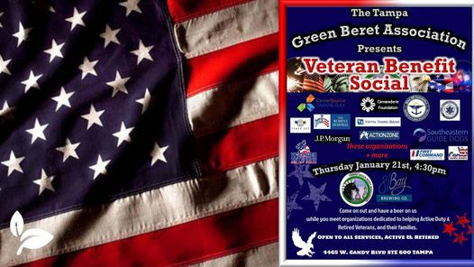 Native Ceuticals Tampa at the Veterans Benefit Social