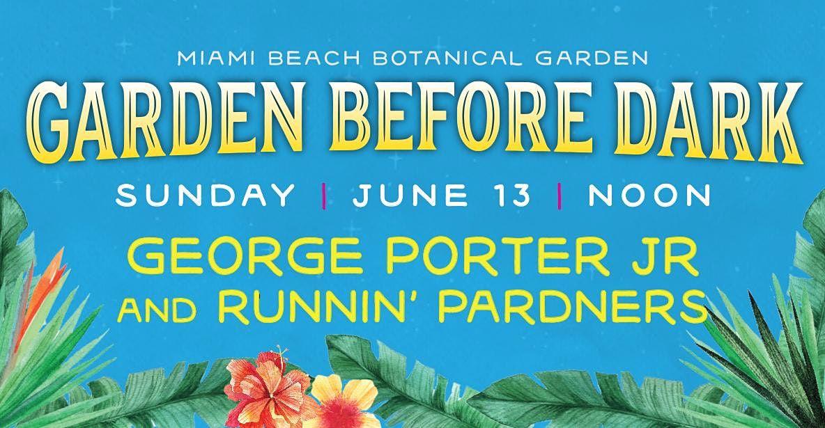 GEORGE PORTER JR. and RUNNIN' PARDNERS  - Ros\u00e9 Jazz Brunch
