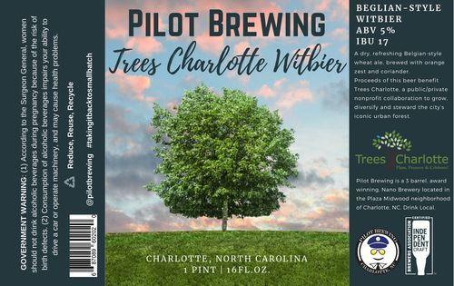TreesCharlotte Beer Release at Pilot Brewing