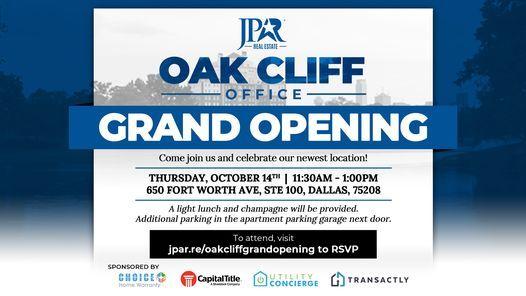 JPAR\u00ae Oak Cliff Grand Opening!