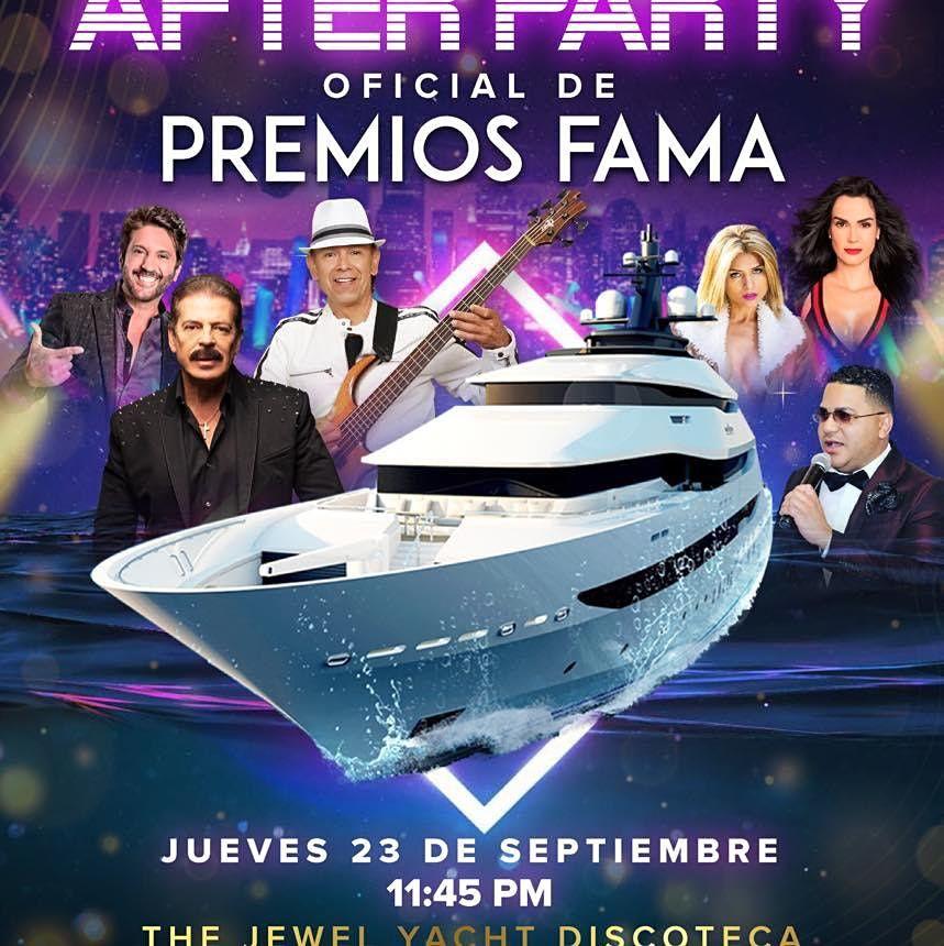 Latin Yacht Party Presenta El After Party Oficial De Los Premios FAMA