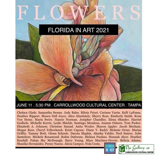 FLOWERS-  FLORIDA IN ART
