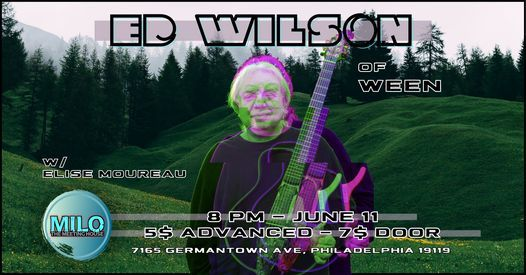 Ed Wilson LIVE at The Meeting House W\/ Elise Moureau