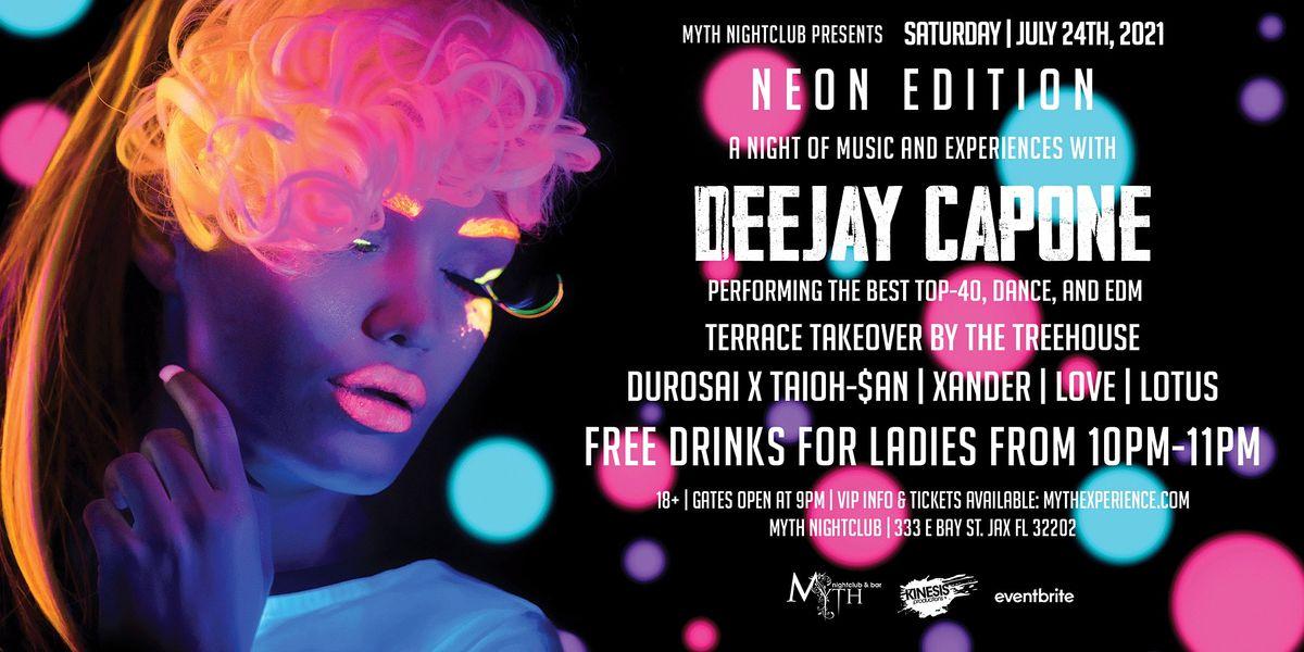Saturday Night - NEON EDITION at Myth Nightclub   Saturday 07.24.21