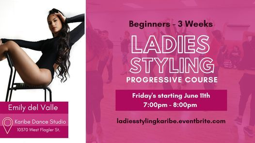 Ladies Styling Progressive Course (Beginners)