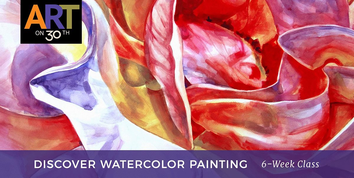 THU AM - Discovering Watercolor Painting with Kelsey Worth