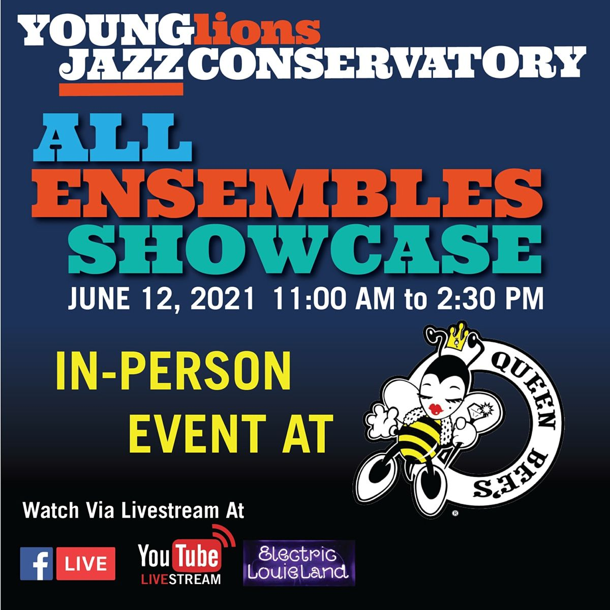 Young Lions Jazz Conservatory All Ensembles Showcase