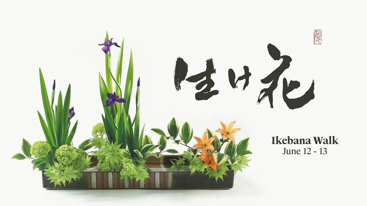 Ikebana Walking Exhibition