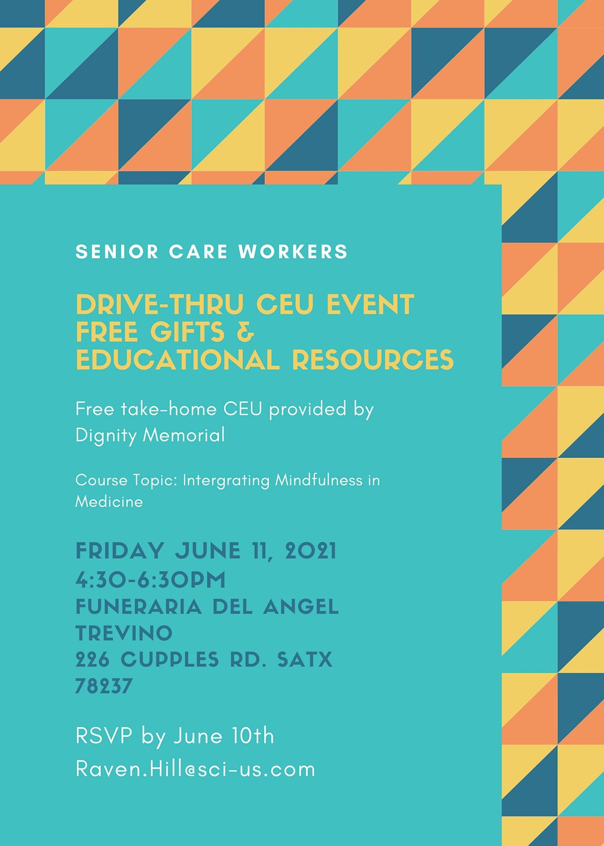 Continuing Education for Senior Care Worker