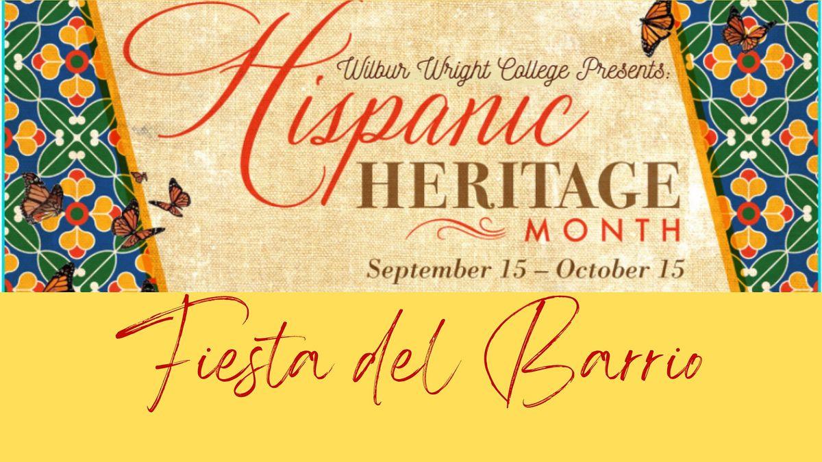 Wilbur Wright College Latinx Heritage Month Kickoff: Fiesta del Barrio