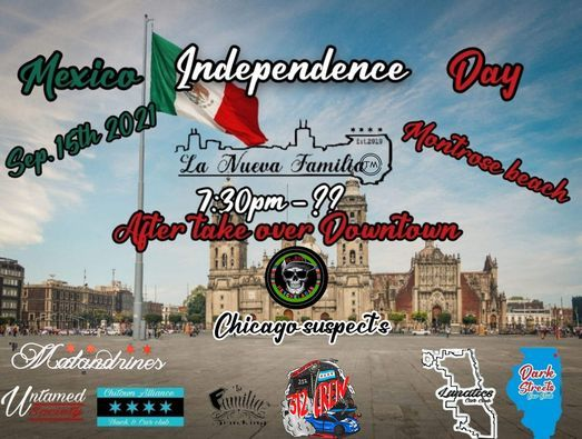 Mexico Independence meet up @ montrose
