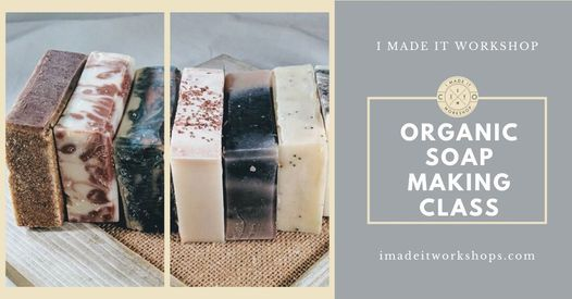 Learn how to make your own soap! Organic soap making class