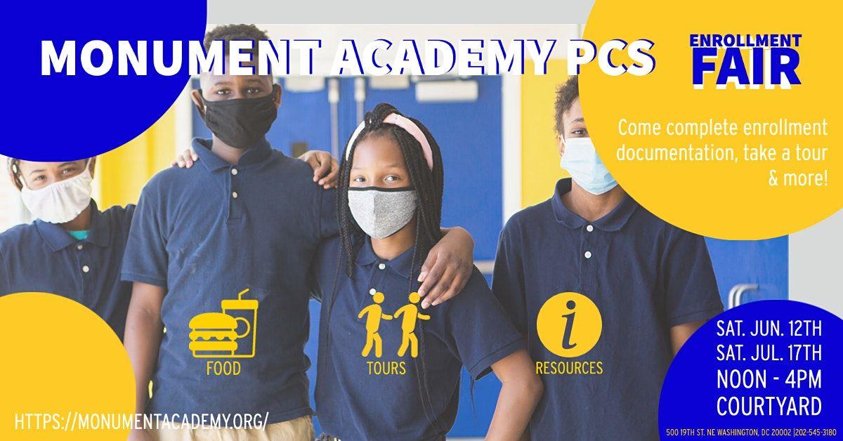 Monument Academy PCS Enrollment Fair