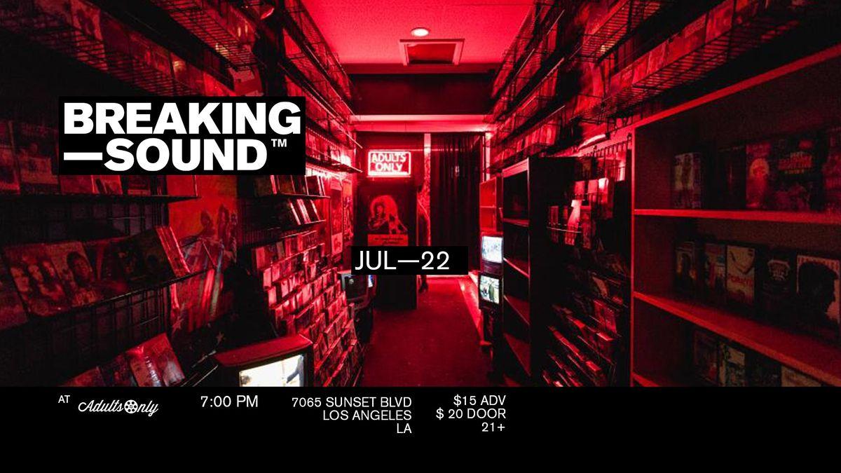 Breaking Sound  ft. d'rok the menace, Harry Jay
