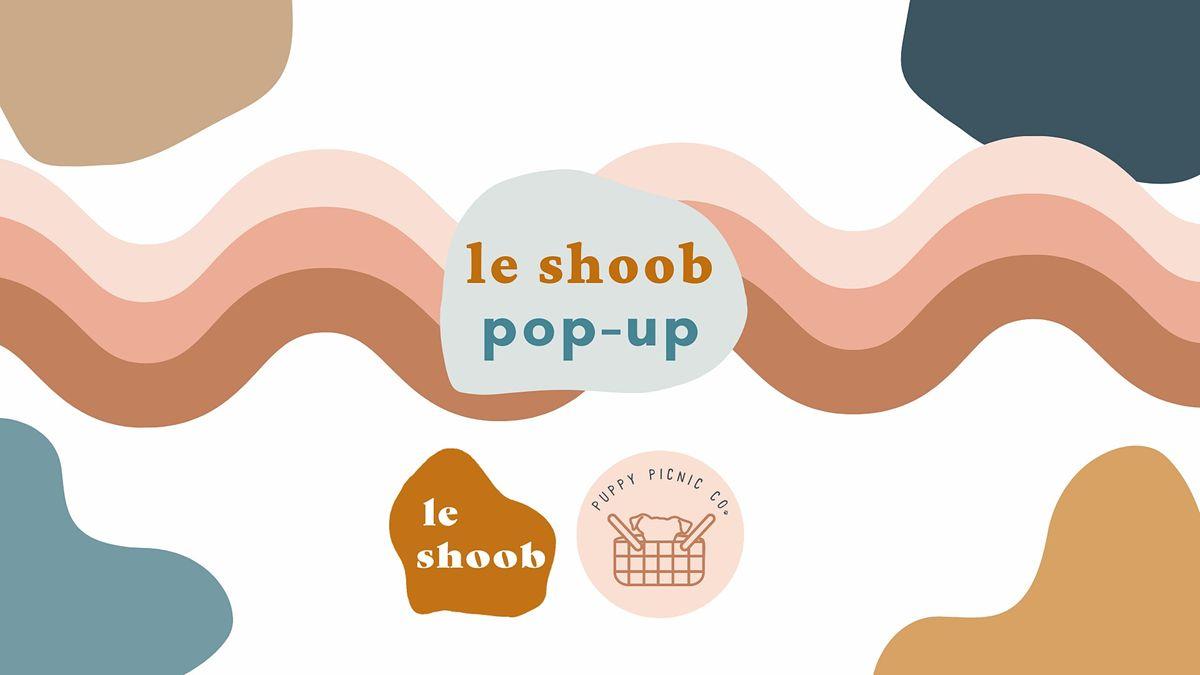 Le Shoob Pop-Up at Puppy Picnic Co.