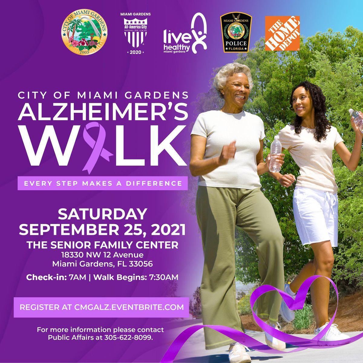 City of Miami Gardens Alzheimer's Walk