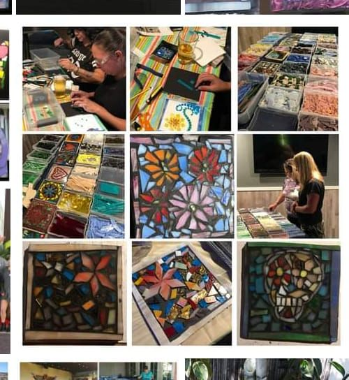 Beginners Stained Glass Mosaic Trivits