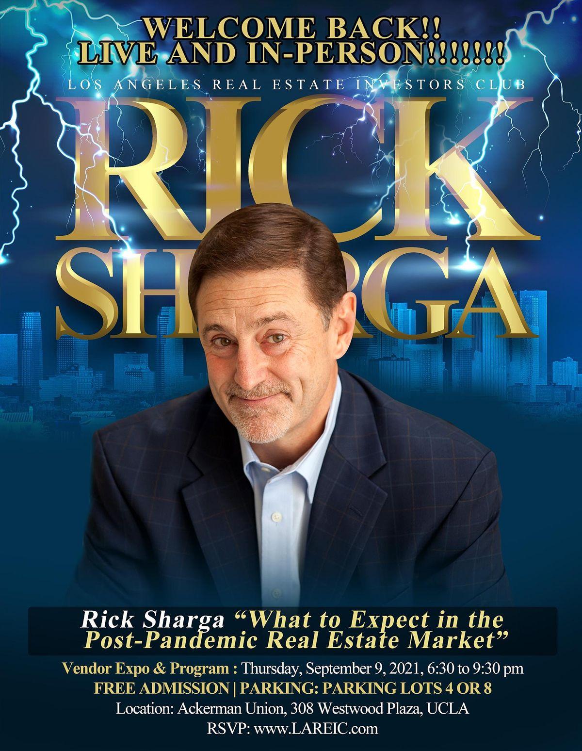 An evening with Rick Sharga