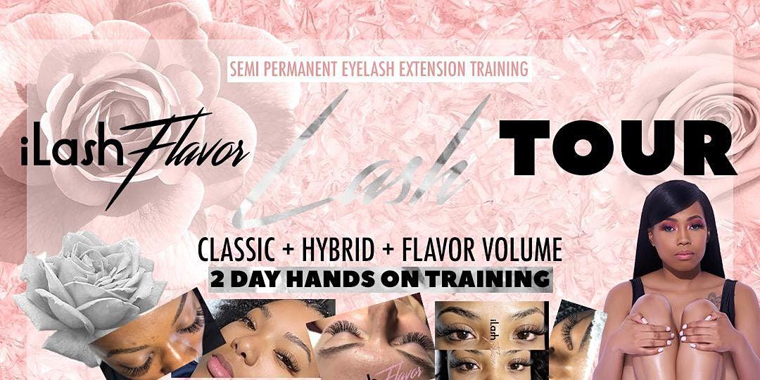 iLash Flavor 2 Day Eyelash Extension Training Seminar - New York (NYC)