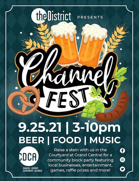 The District ChannelFEST - an Oktoberfest inspired event