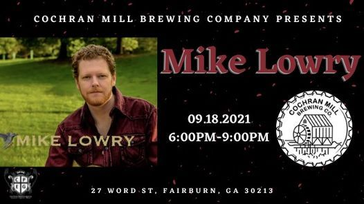 Mike Lowry live at Cochran Mill Brewing Company