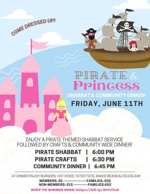 Pirate & Princess Shabbat Service