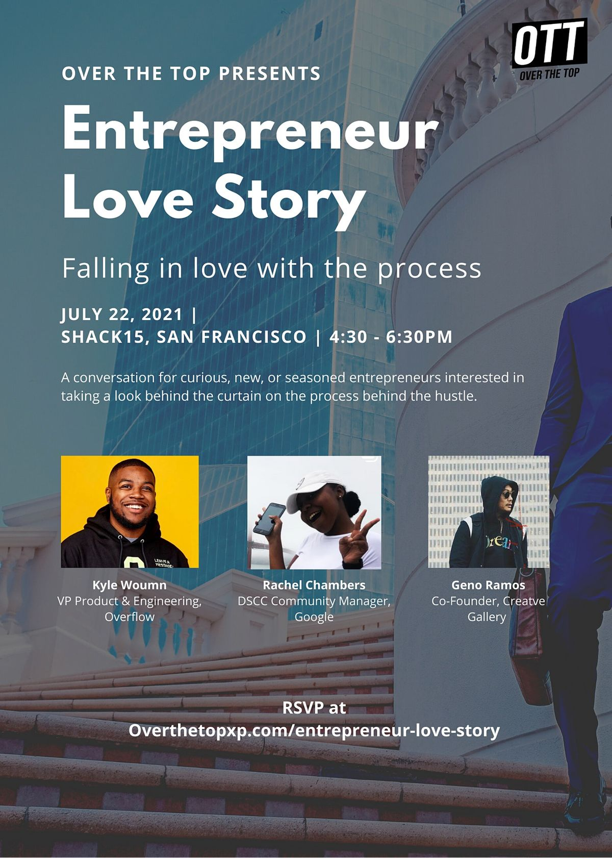 Entrepreneur Love Story: Falling in love with the process