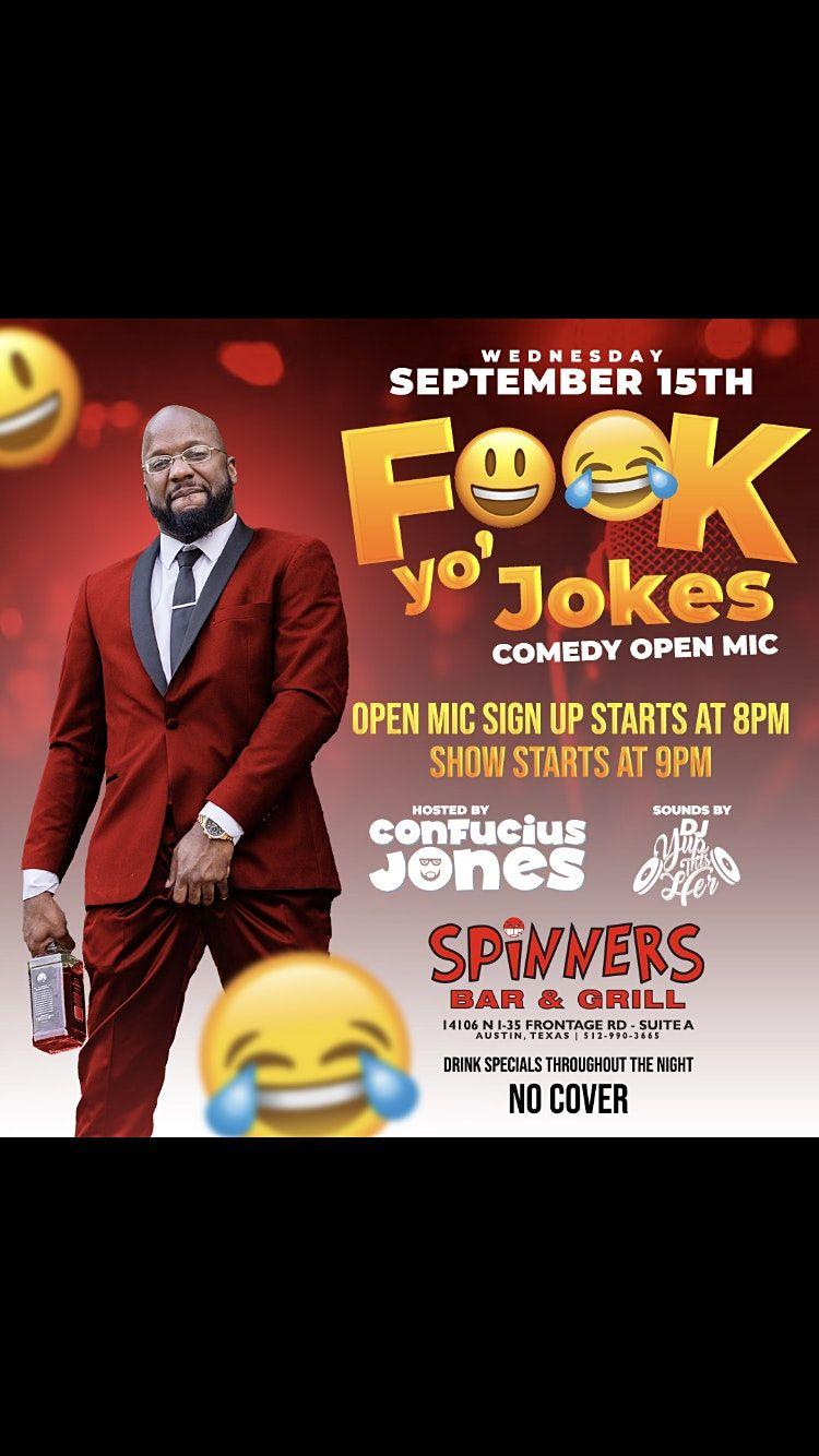 F*ck Yo Jokes Comedy Show