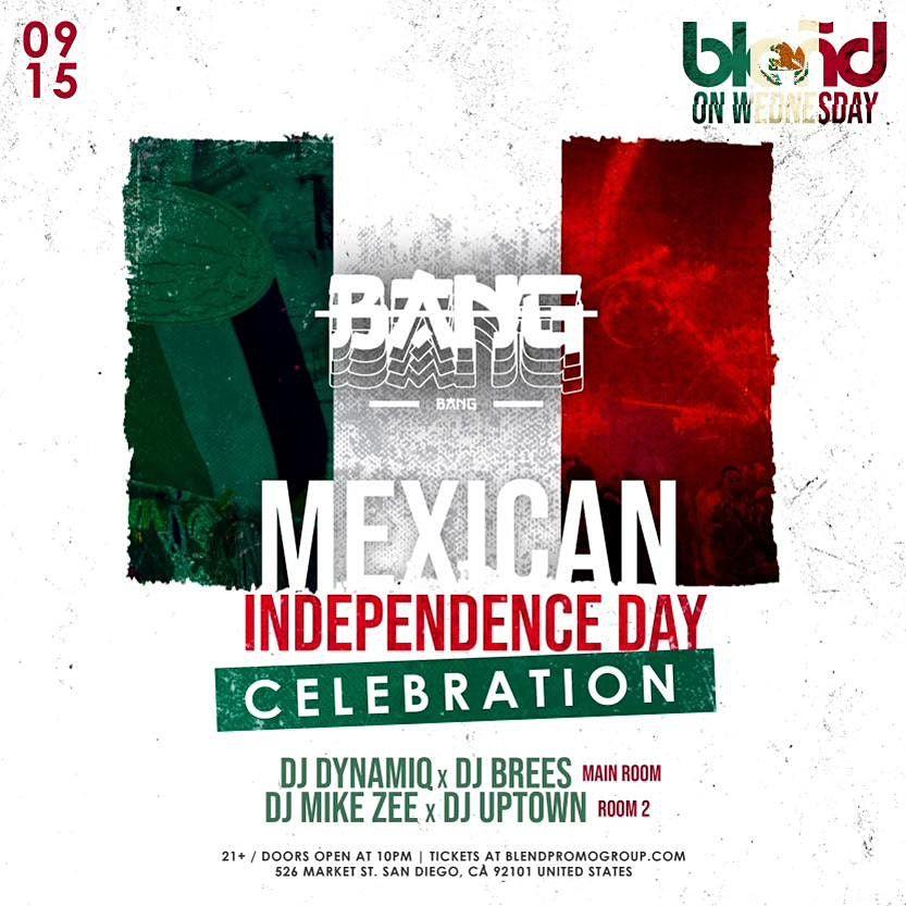 Mexican Independence Day at BANG BANG