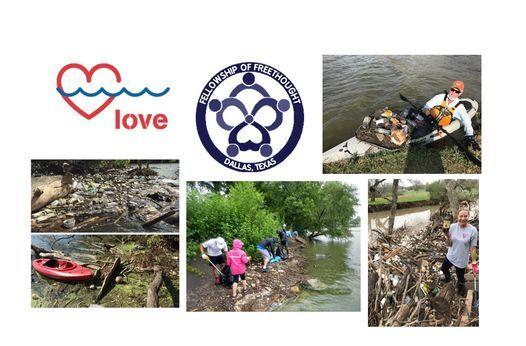 White Rock Lake Trash Cleanup