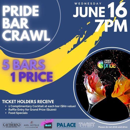 Miami Beach Pride Bar Crawl