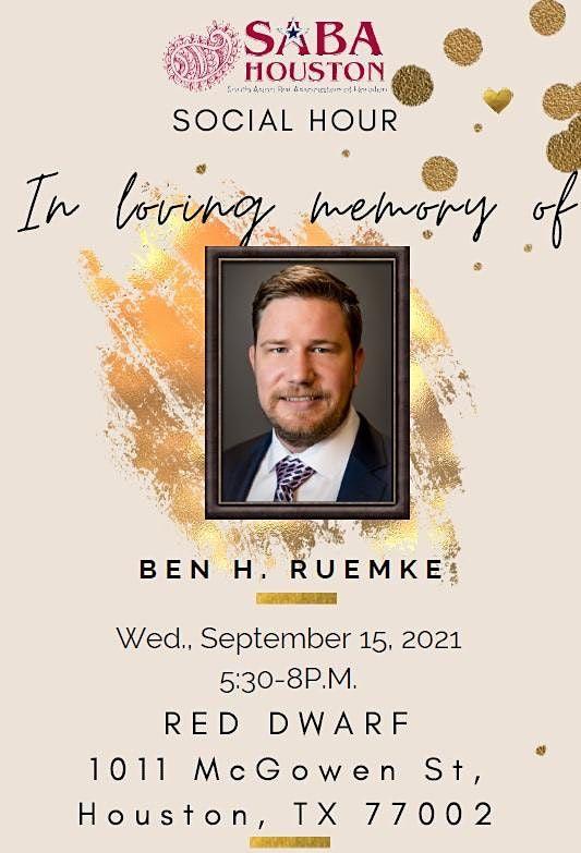Social Hour In Loving Memory of Ben H. Ruemke