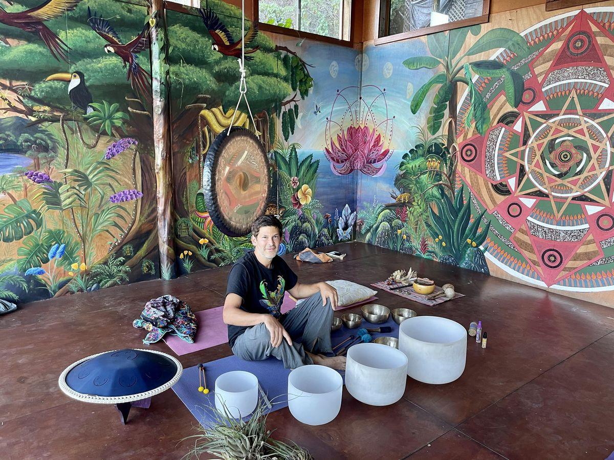 LIVE  outdoor Sound Bath w\/Guided meditation