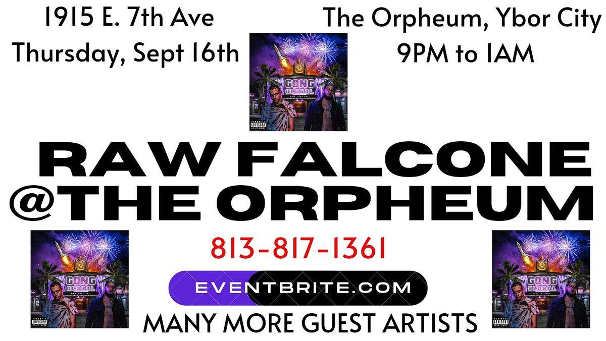 Raw Falcone at The Orpheum (Speak Up Entertainment)