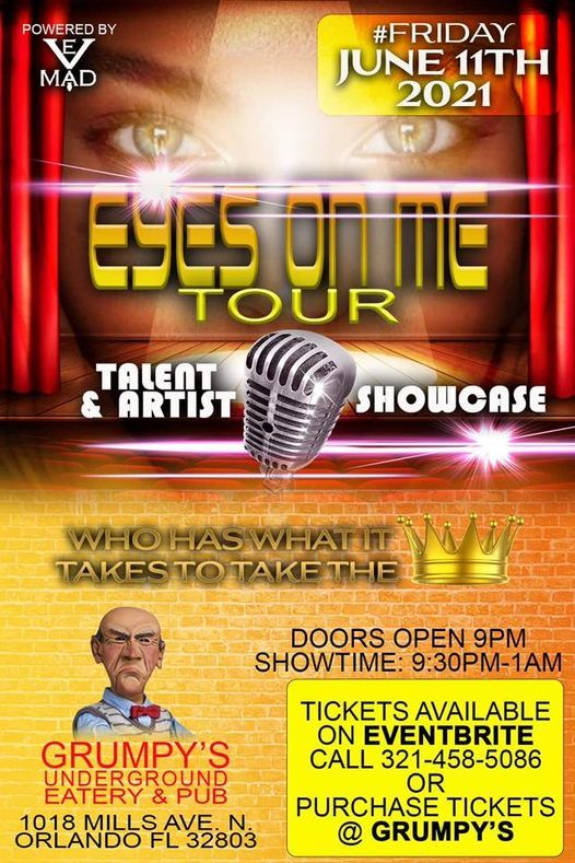\u201cEyez on Me\u201d Talent and Artist Showcase