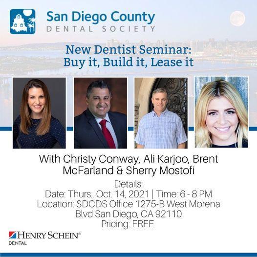New Dentist Seminar: Buy it, Build it, Lease it