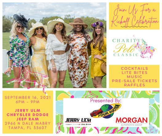 Charity Polo Classic Kickoff Party