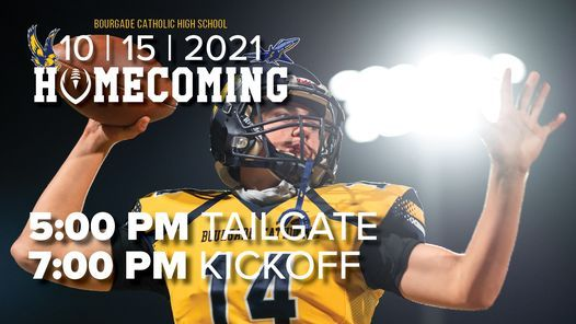 2021 Homecoming Tailgate & Football Game