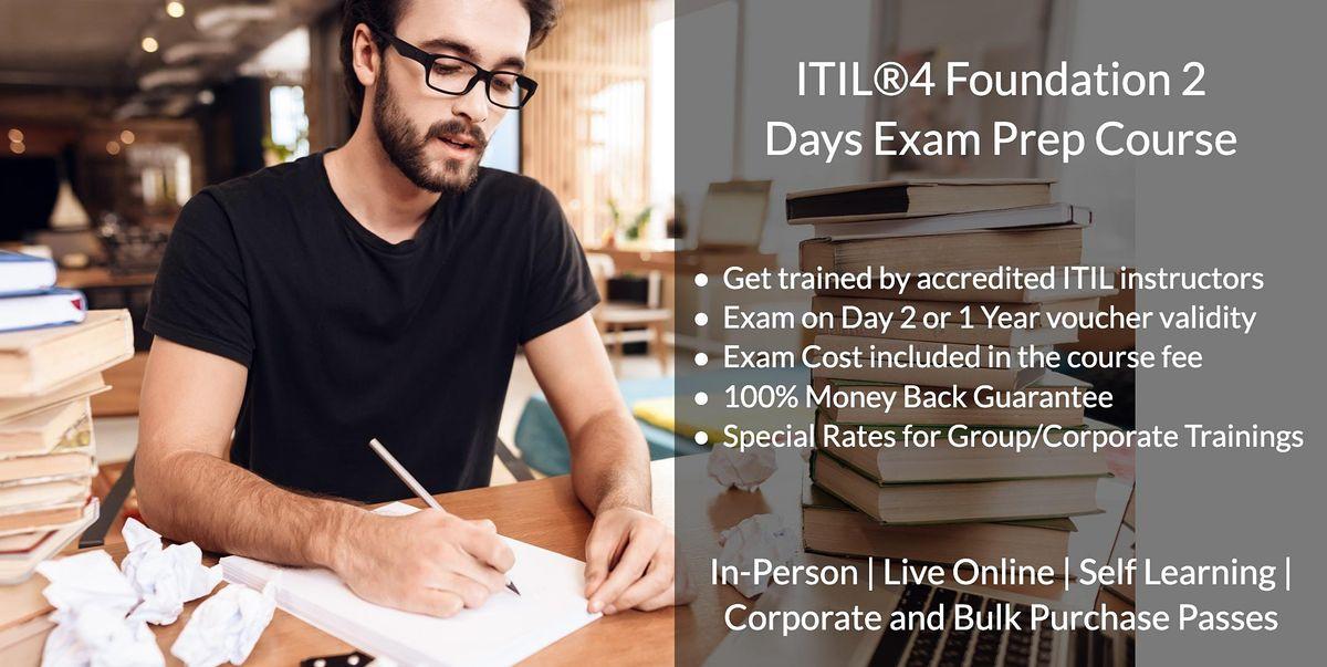 10\/14  ITIL  V4 Foundation Certification in San Francisco