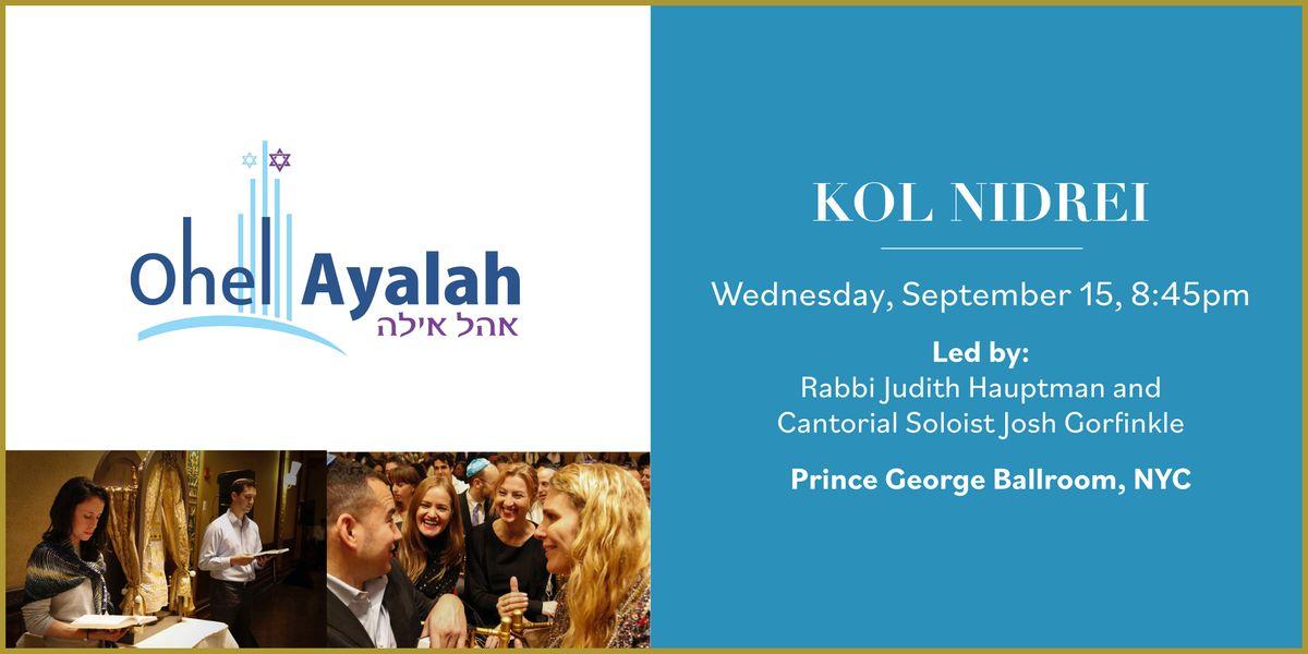 Yom Kippur Kol Nidrei - 8:45 PM