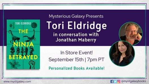 In-Store Event: Tori Eldridge with Jonathan Maberry