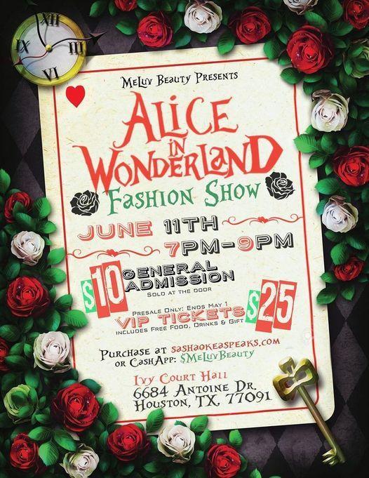 MeLuv Beauty Presents Alice In WonderLand Fashion Show